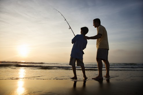 What every son needs from his dad parent cue for Father son fishing