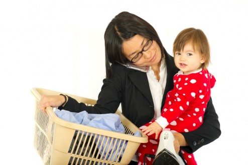 Moms working outside of the home: Good for kids?