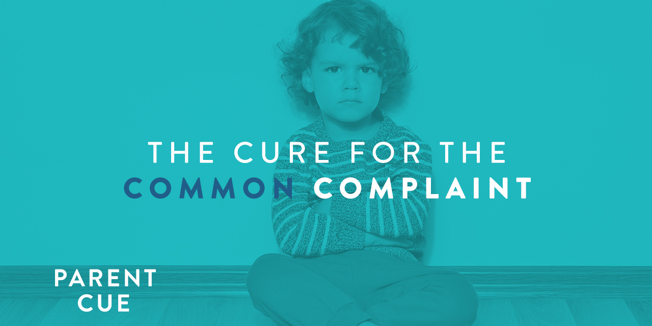 The Cure for the Common Complaint