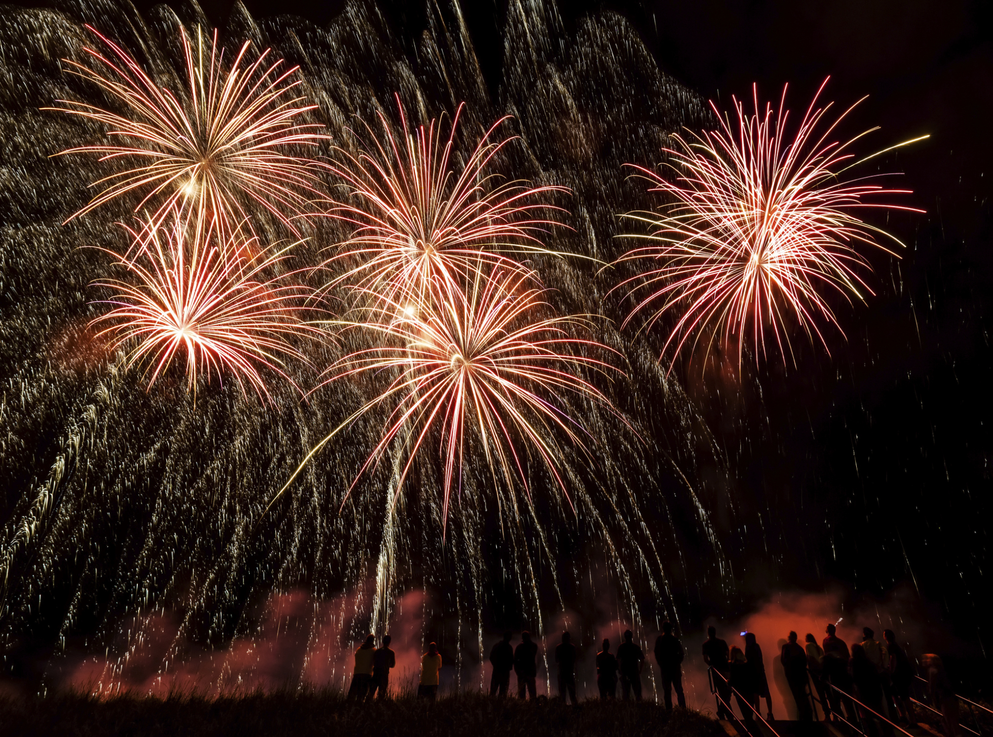 fireworks and spontaneous family reunions - parent cue