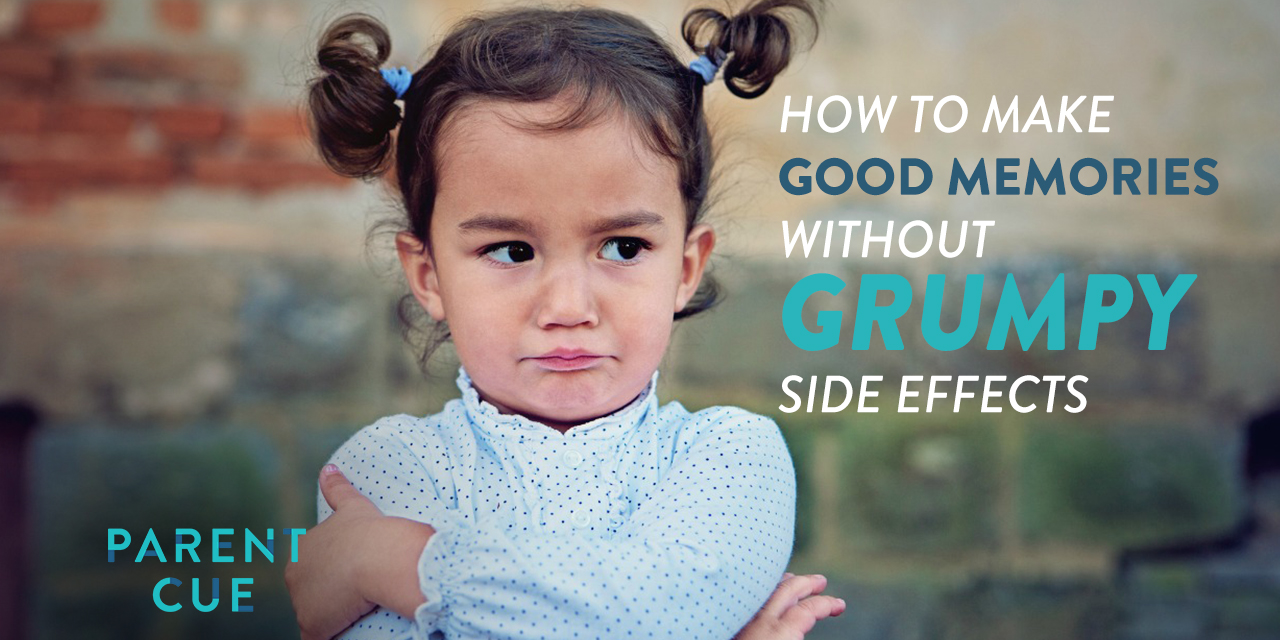 How to Make Good Memories Without Grumpy Side Effects