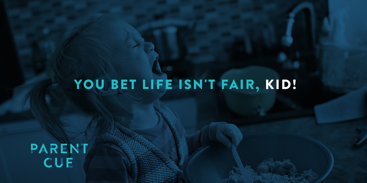 You Bet Life Isn't Fair, Kid!