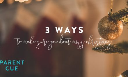 3 Ways to Make Sure You Don't Miss Christmas