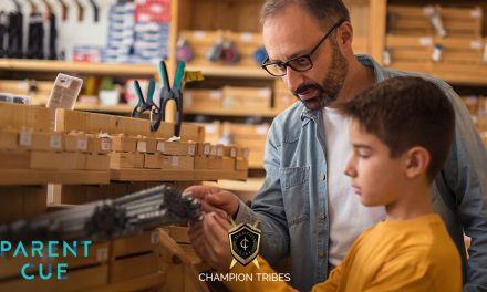 Champion Tribes : Helping Middle School Boys Connect With Their Dads While Preparing Them For Life