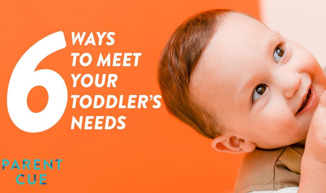 6 Ways to Meet Your Toddler's Needs