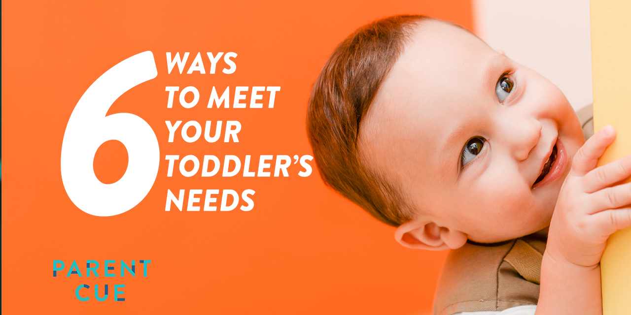 6 Ways to Meet Your Toddler's Needs