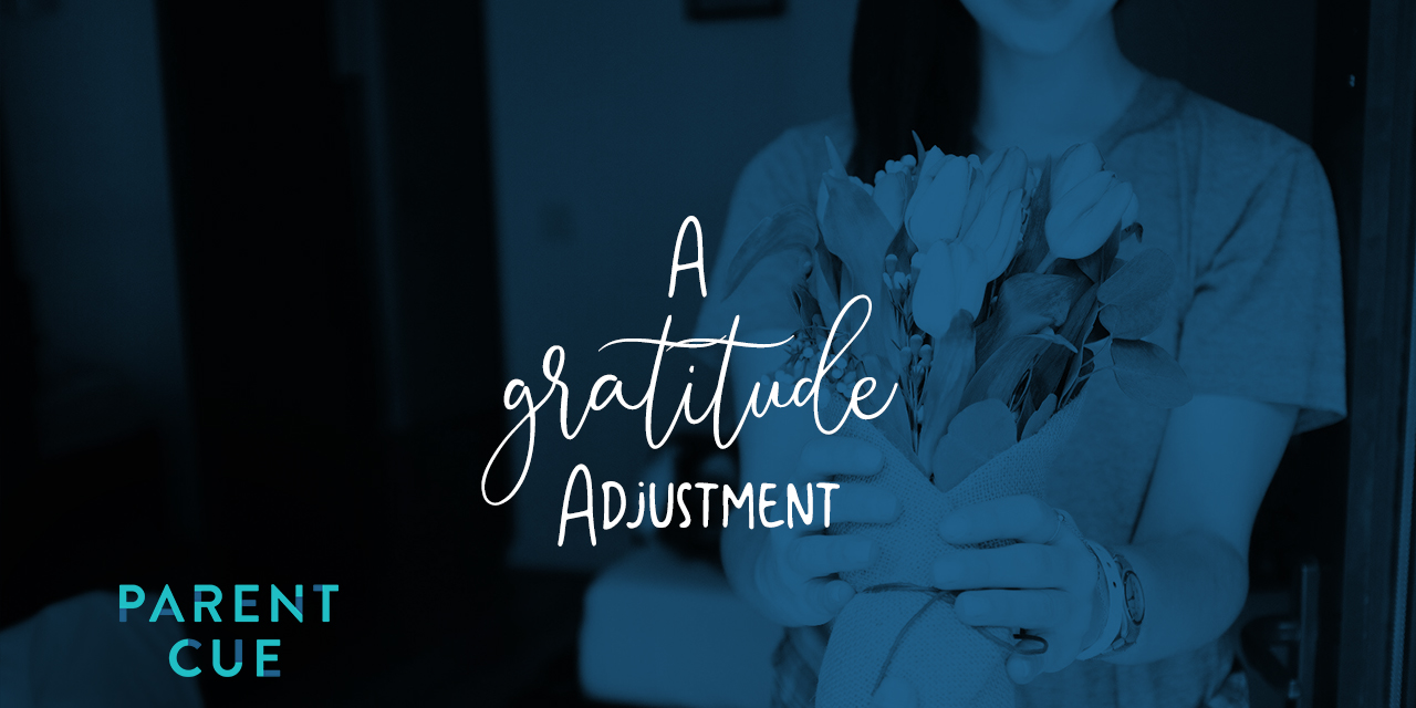 A Gratitude Adjustment