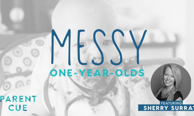 Messy One-Year-Olds