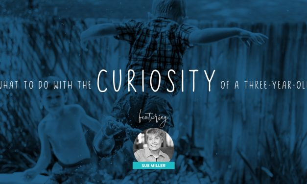 What to Do With the Curiosity of a Three-Year-Old