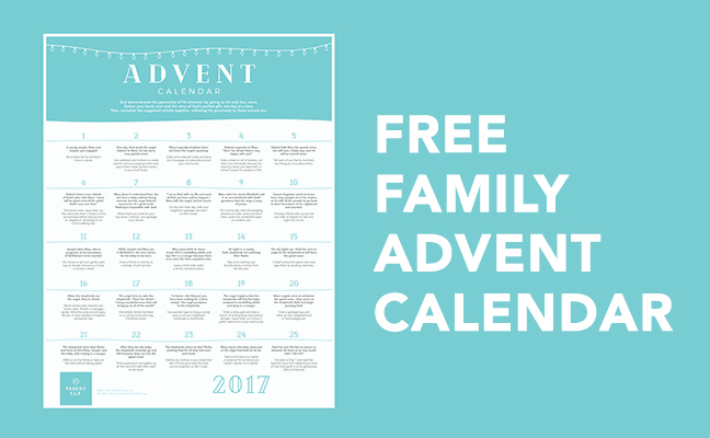 Free Family Advent Calendar