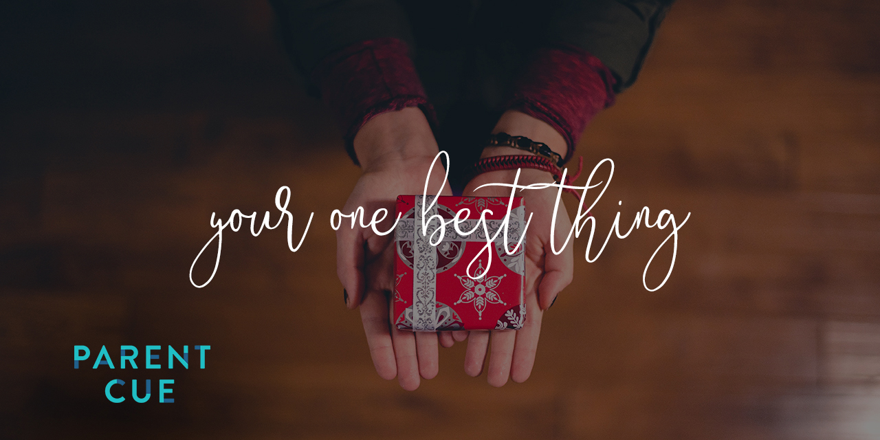 Your One Best Thing
