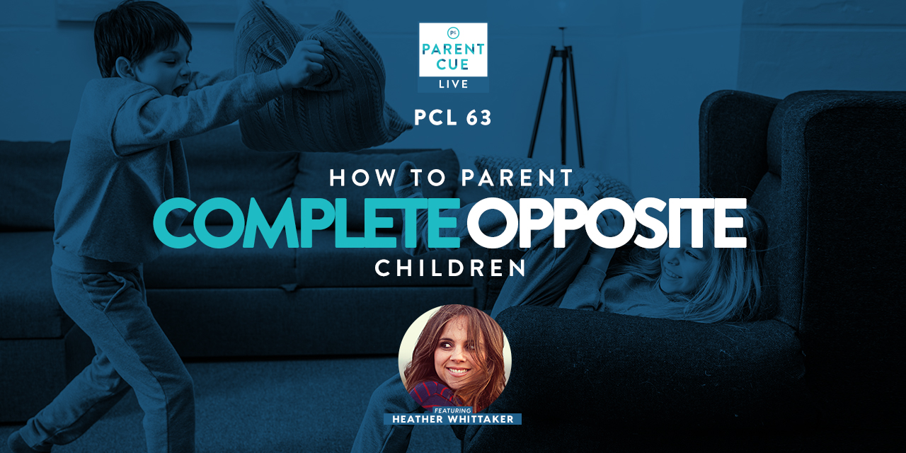 How to Parent Complete Opposite Children