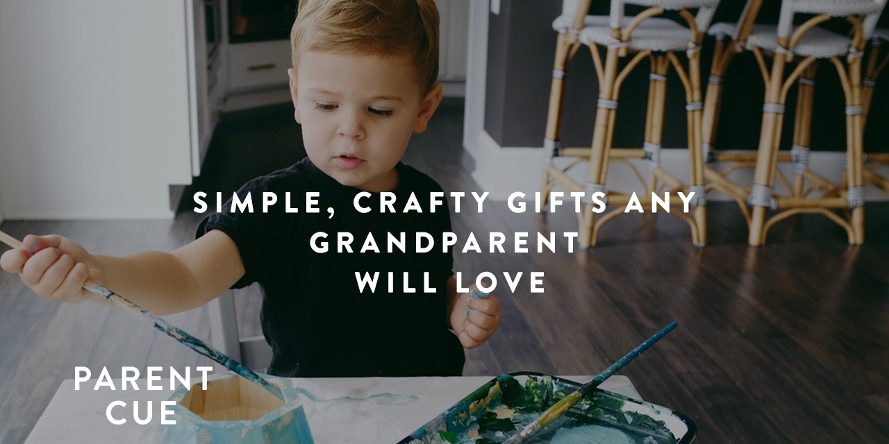 Simple, Crafty Gifts Any Grandparent Will Love