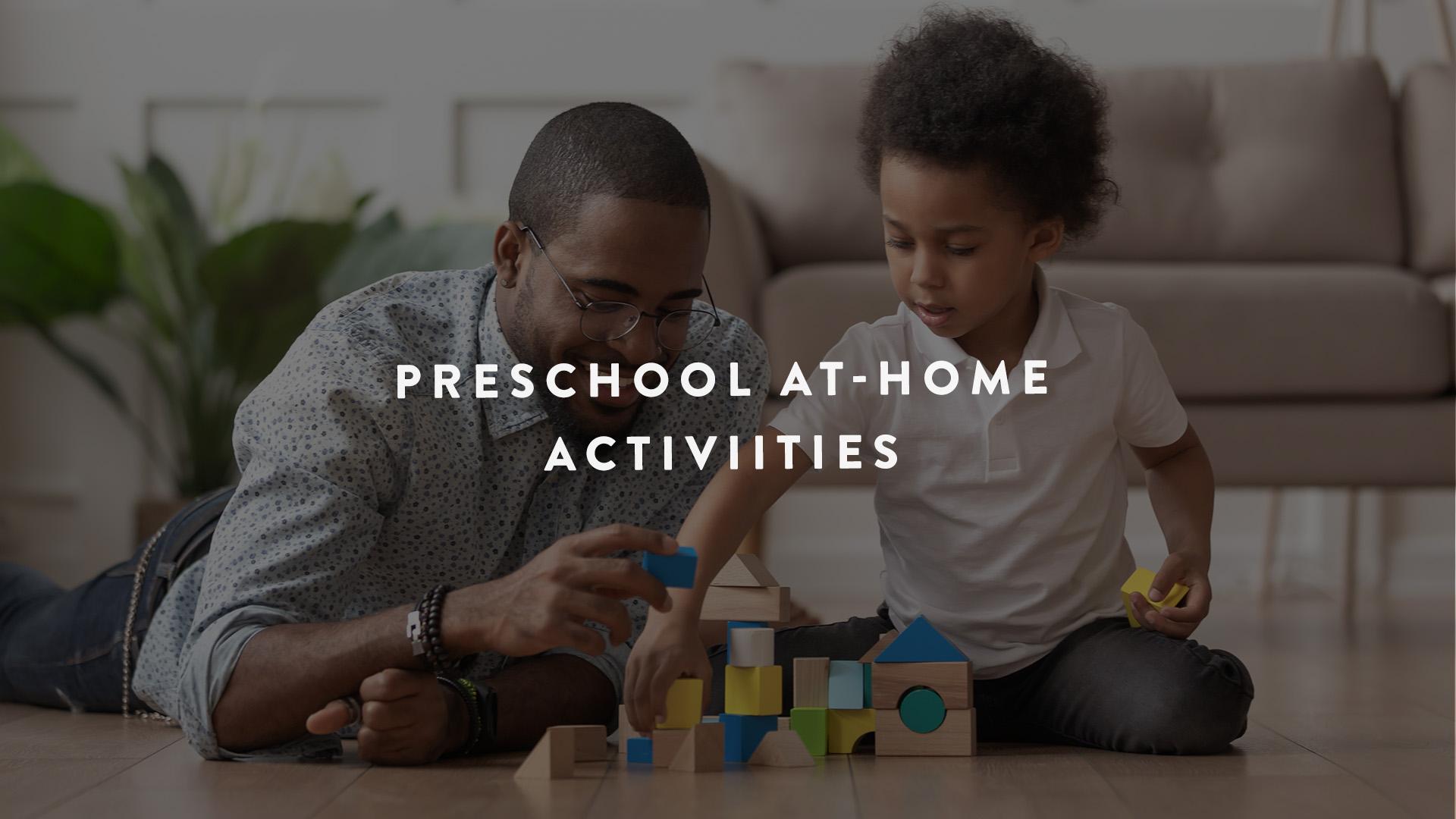 preschool at-home activities