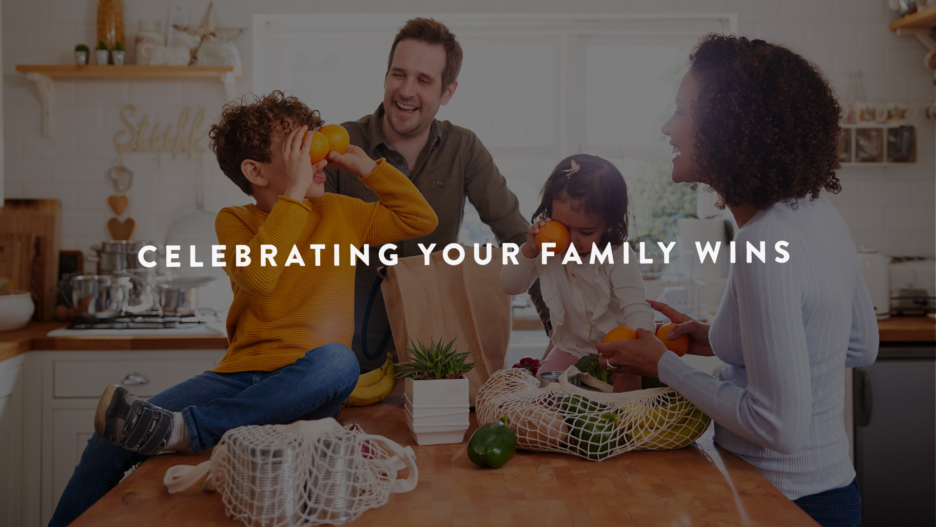 celebrating your family wins