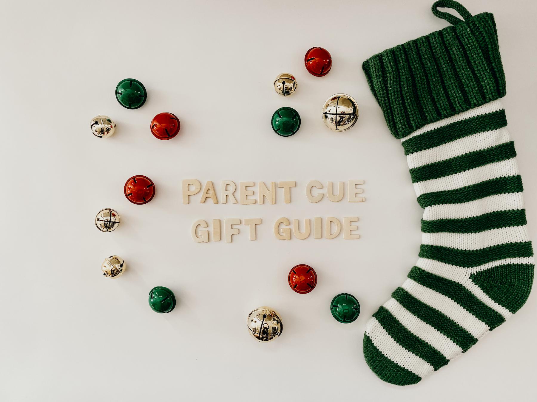 Parent Cue Gift Guide | Blog Header Image